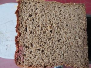 8% rye crumb shot