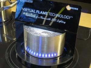 Samsung LED virtual flame
