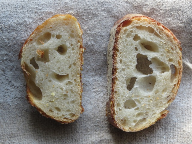 Holes cross section