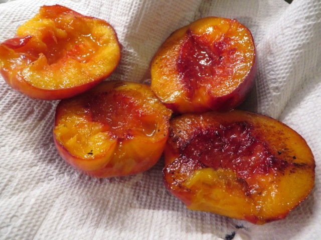 Fried Nectarines