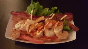 Lobster's shrimp BLT