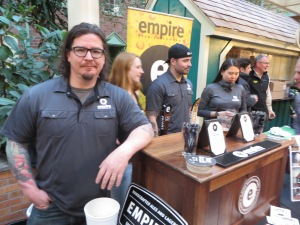 Tim Butler, Empire Brewing