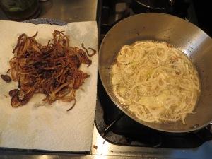 Mejadra Onions